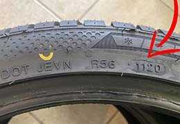 How to know the production date of a tire
